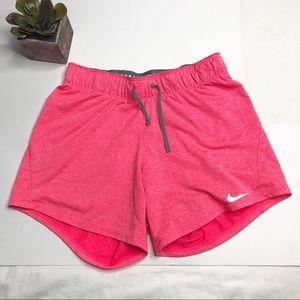 Nike DriFit shorts, knit drawstring waist
